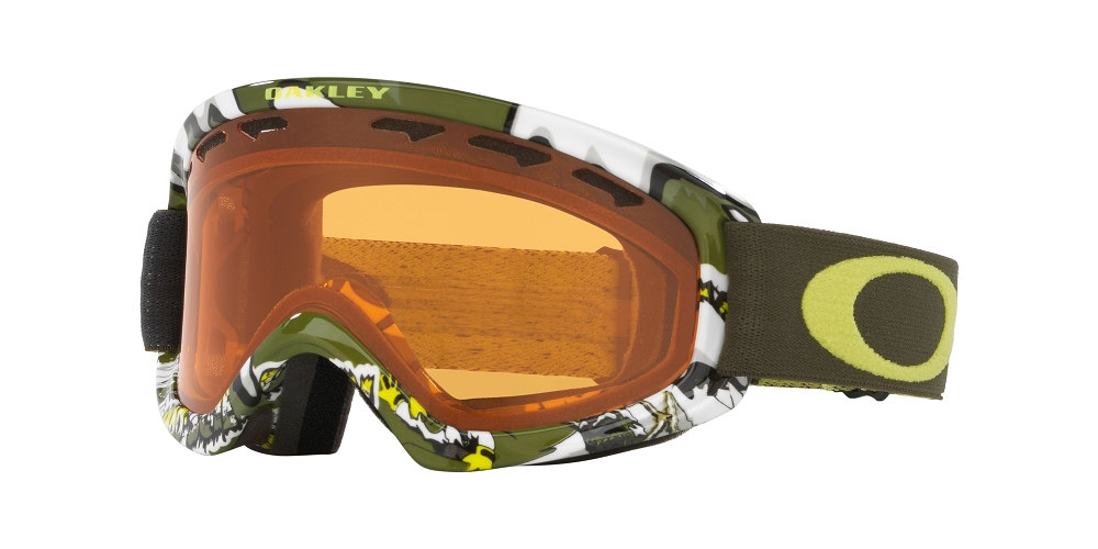 c0e3e8fbb9 Oakley O Frame 2.0 XS Goggle 2018. Shady Trees Army Green Frame with Persimmon  Lens