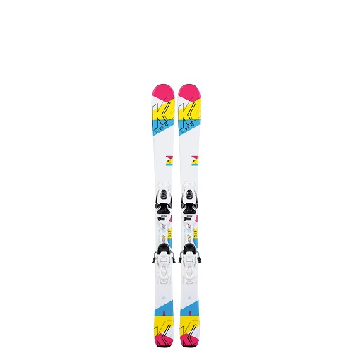 K2 Luv Bug Junior Ski with FDT 4.5 Ski Binding 2020