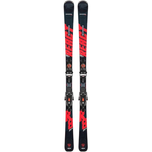 Rossignol React 8 Mens Ski with NX 12 Binding 2021