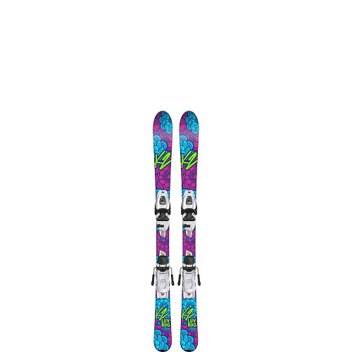 K2 Luv Bug Junior Ski with FDT Junior Binding 2019