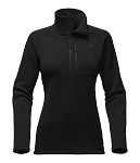 North Face Flux 2 Power Stretch 1/4 Zip Womens Pullover 2018